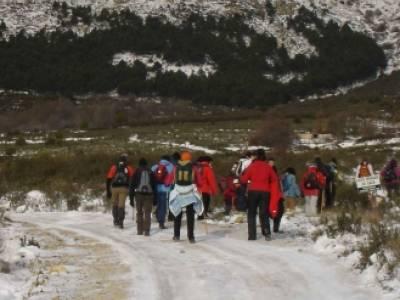 Valdemanco _ Buitrago del Lozoya --gente senderista; rutas de senderismo en madrid